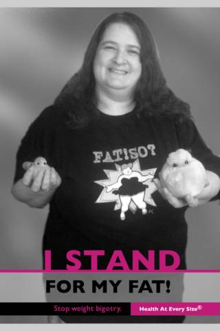 Stand for my fat